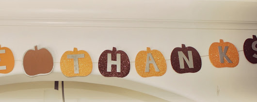 7 Days of Fall Decor: Day 1 - Give Thanks Banner