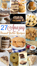 27 amazing and delicious peanut butter recipes, perfect for celebration national peanut butter lovers day!