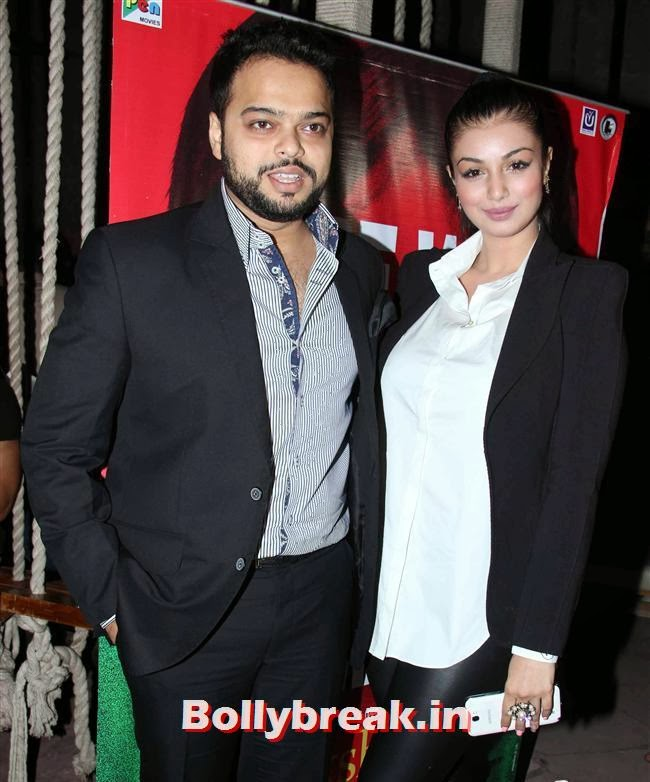 Farhan Azmi and Ayesha Takia, Celebs at Lakshmi Movie Success Bash
