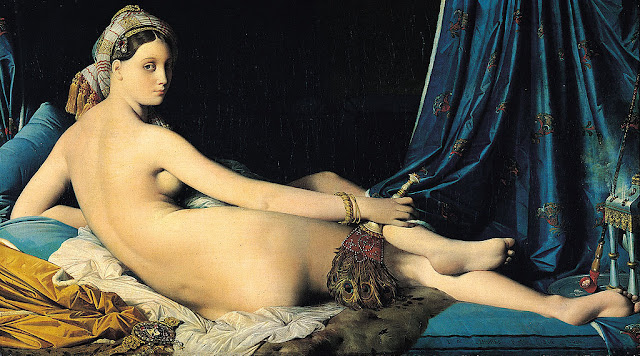 La Grande Odalisque (1814) - Jean-Auguste-Dominique Ingres (1780 - 1867)