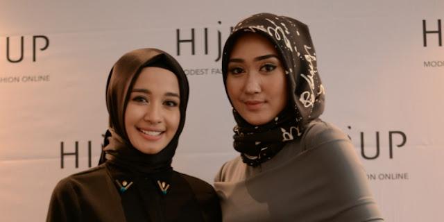 Kreasi Hijab Simpel Tanpa Aksesoris dan Jarum Berlebih Ala Dian Pelangi