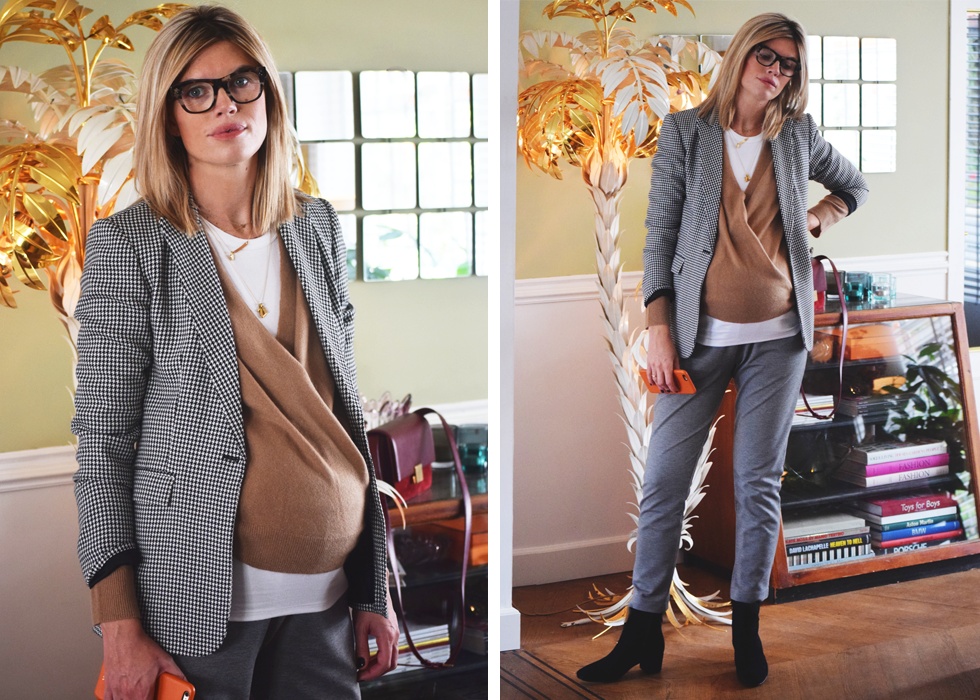 Outfit of the day, Dewolf, Céline, IKKS, manfeld, Dutchess, Baukjen,