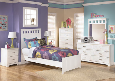 girls' bedroom set