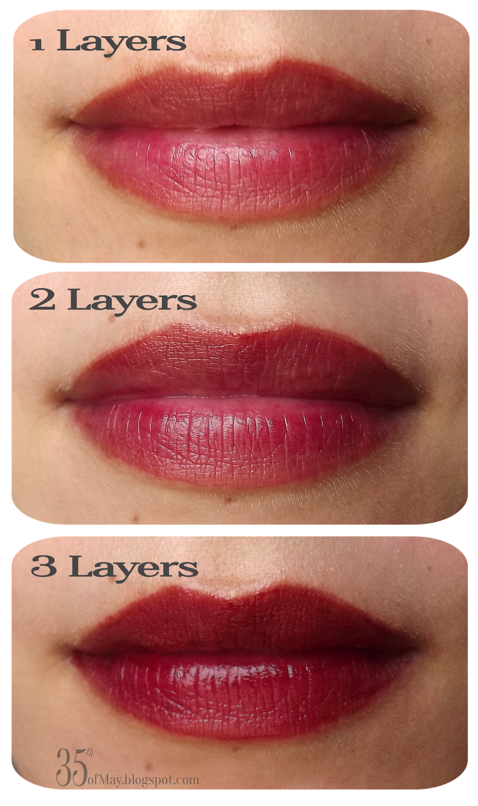 Chateau Labiotte Wine Liptint in RD03 swatch