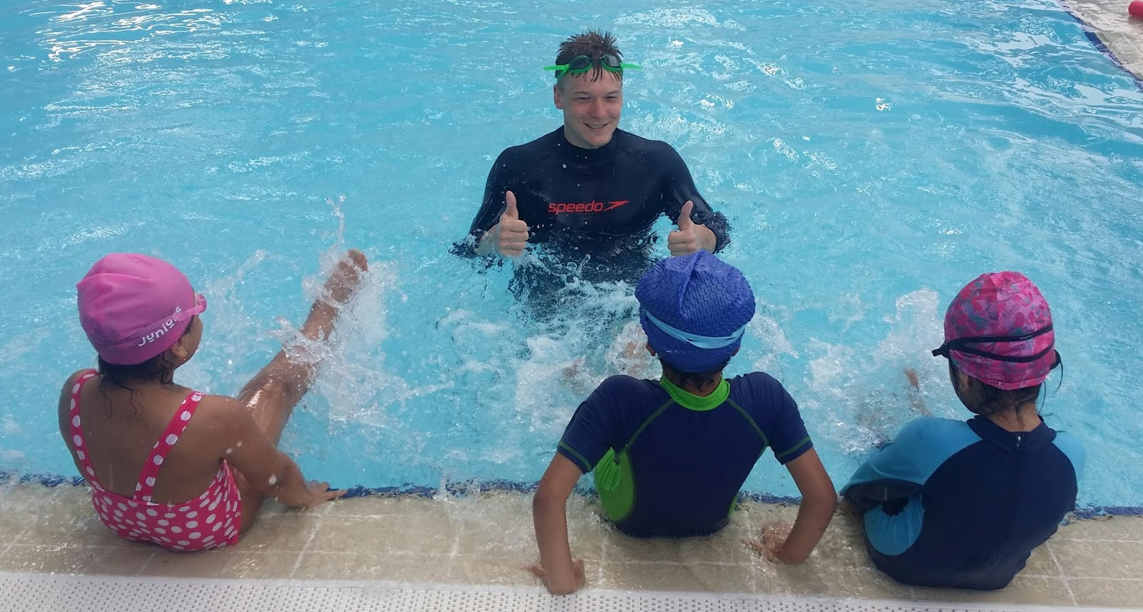 learn to swim Muscat BritSwim school lessons