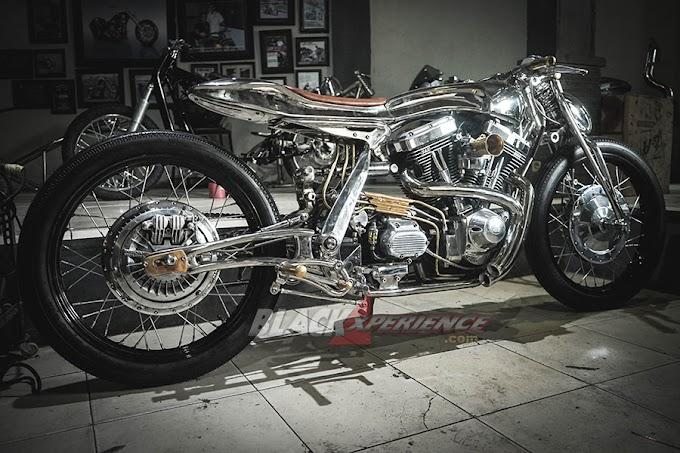 Kumpulan Foto-Foto Modifikasi Motor Klasik ala Kromworks