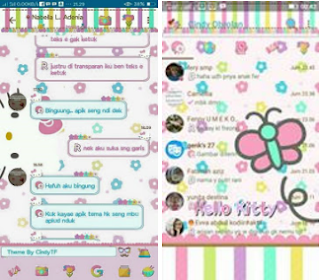 BBM Mod Hello Kitty Pastel V3.3.0.16 Apk for Android Full Version