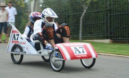 Beaulieu Downhill Go Kart Race