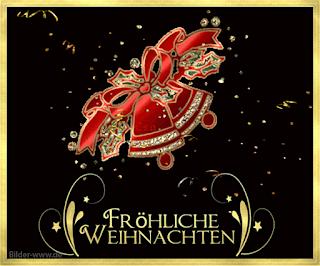 Weihnachtsbilder frohe Weihnachten Glocken
