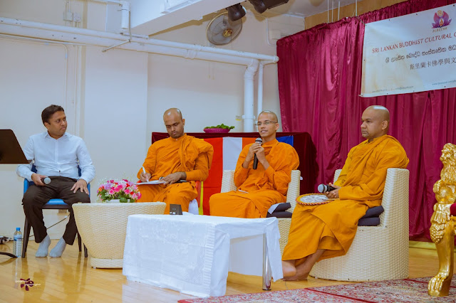 Discussion about Stress Management with Mawarale Bhaddiya Thero