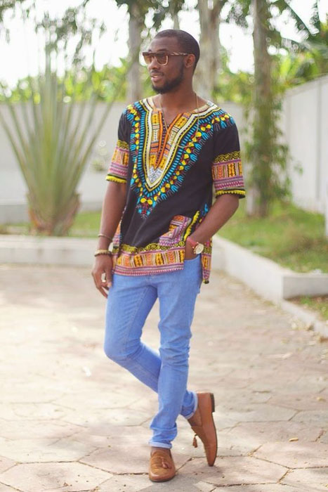 Dashiki-Style-Ankara-top-for-men