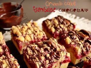 Crumbcake framboise chocolat