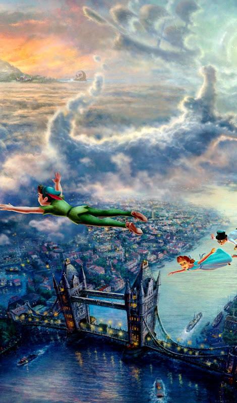 Peter Pan Wallpaper Spot Wallpapers