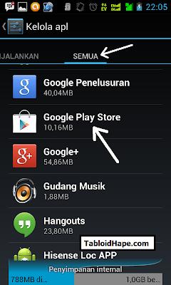 Solusi Mengatasi Unfortunately Google Play Store Has Stopped