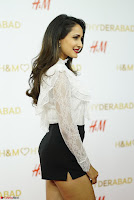 Pragya Jaiswal in lovely Black Mini Skirt and White Transparent Shirt ~  Exclusive 048.JPG