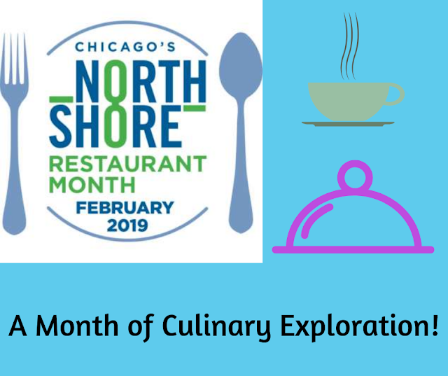 Chicago's North Shore Restaurant Month is February 2019