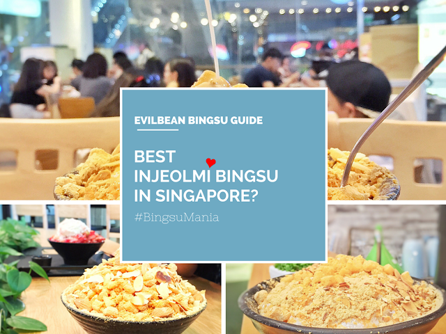 Best Injeolmi Bingsu in Singapore