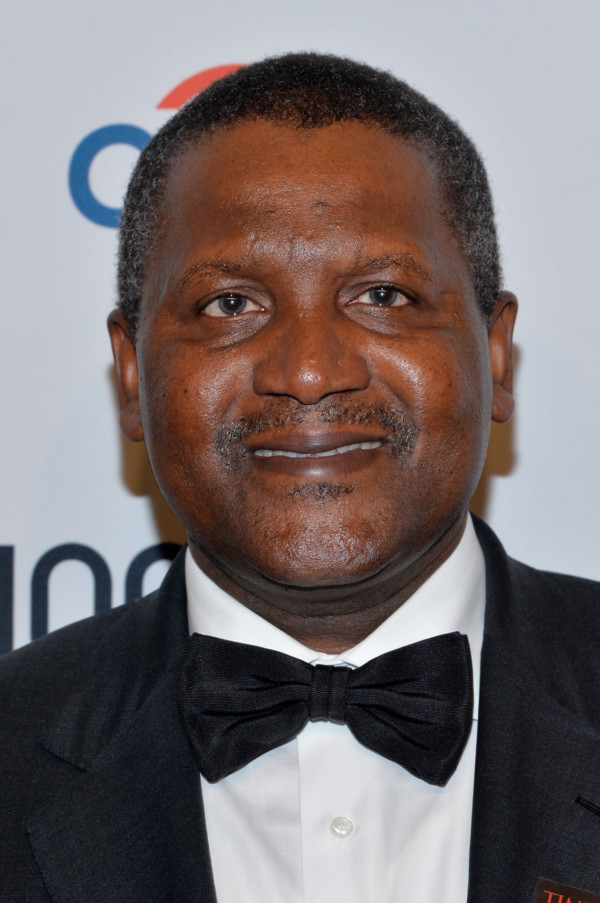 Dangote becomes the only Black person on list of Forbes' World's Most Powerful People
