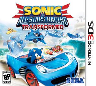 Sonic & All-Stars Racing Transformed, 3DS, Español, Mega, Mediafire