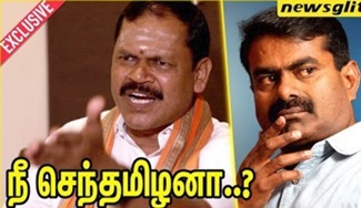 Arjun Sampath Fling against Seeman's Hindu Concern | Interview