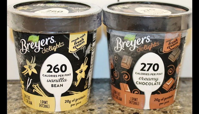 breyers carb smart chocolate ice cream nutrition facts