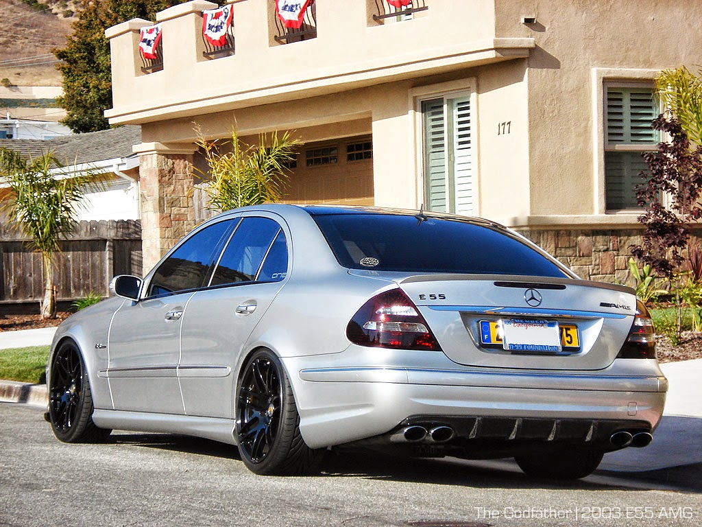 Mercedes Benz W211 E55 Amg On Forgestar Wheels Benztuning