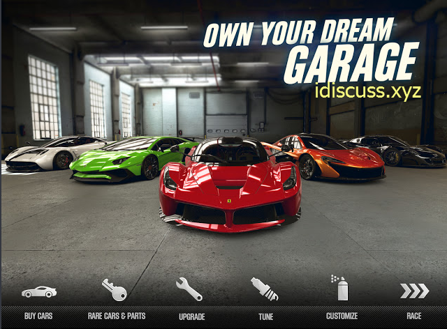 Csr racing 2 mod apk gold and money for android download