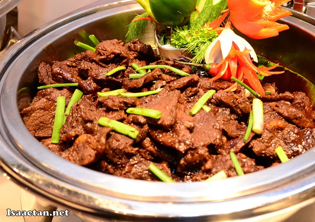 #1 Honey Chilli Garlic Beef (Korea)