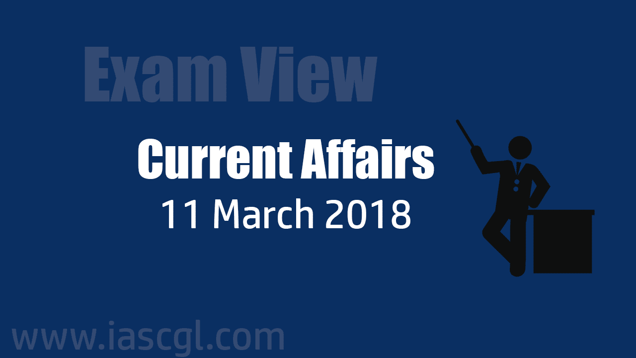 Current Affair 11 march 2018