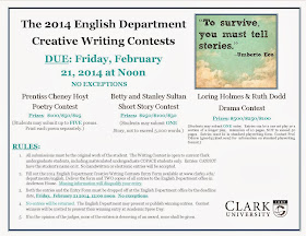 Creative writing contests 2014 things to write an essay about