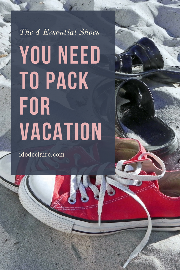 The 4 Essential Shoes You Need To Pack for Vacation
