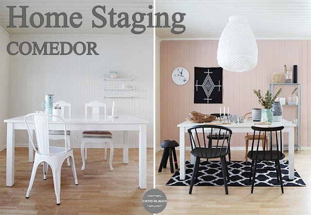 Home staging de un comedor