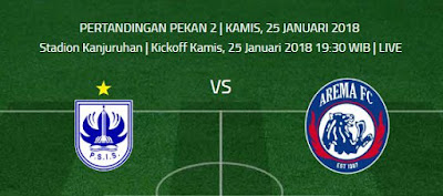PSIS Semarang Vs Arema FC