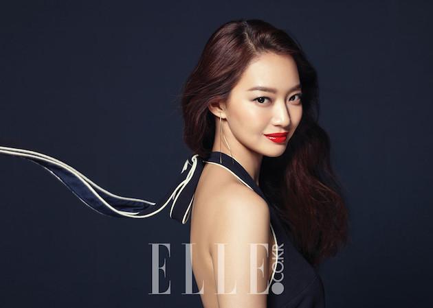 Shin Min Ah, Shin Min Ah Elle, Shin Min Ah Elle 2016, Shin Min Ah editorial, 신민아