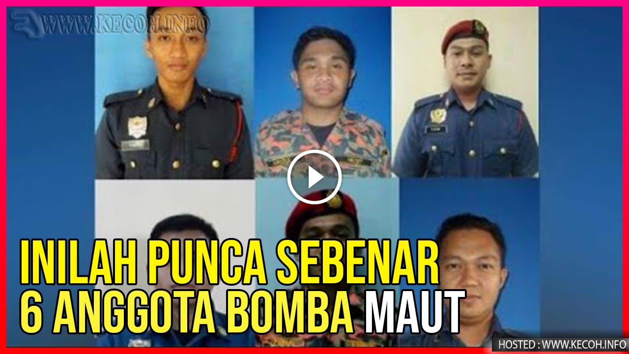 Inilah Punca Sebenar 6 Anggota Mati Lemas Di Puchong