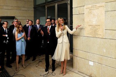 Embaixada dos EUA é inaugurada  em Jerusalém