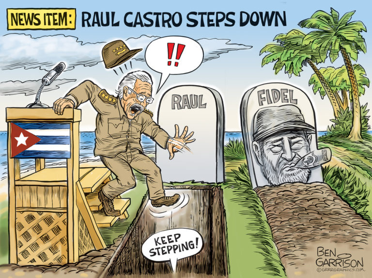 Raul Castro Steps Down