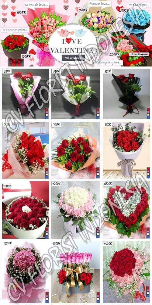 Buket Bunga Mawar Valentine Di Tangerang