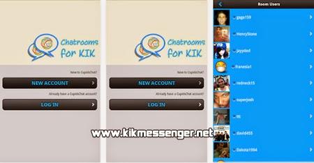Chatea con nuevos amigos de todo el mundo con Chat Rooms for Kik
