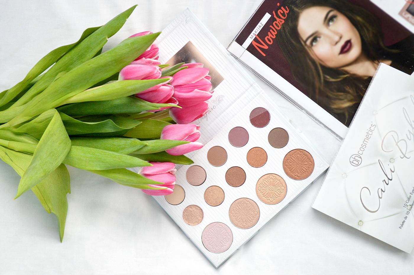 carli bybel bh cosmetics paleta cieni blog