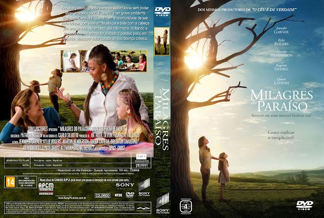Capa DVD Milagres Do Paraíso