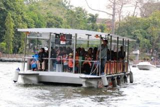 Perahu Gembira Loka Zoo Jogja