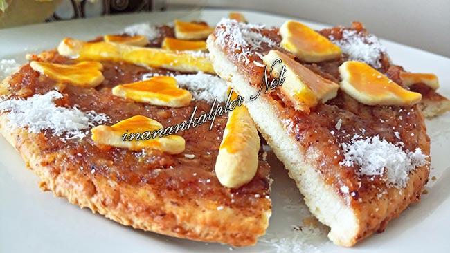 Kilitli Kek Kalıbında Tarçınlı Elmalı Dilim Pasta - www.inanankalpler.net
