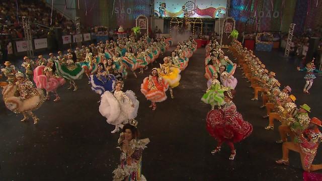 Festival de Quadrilhas Juninas da Globo inscreve até o dia 5 de maio