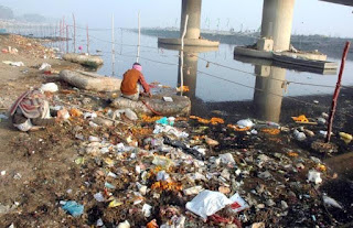 नदी जल प्रदूषण
