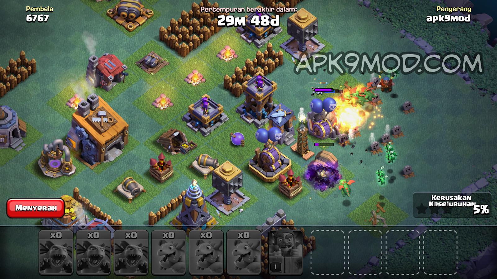 download Clash Of Magic S1 S2 S3 S4 COC MOD APK terbaru