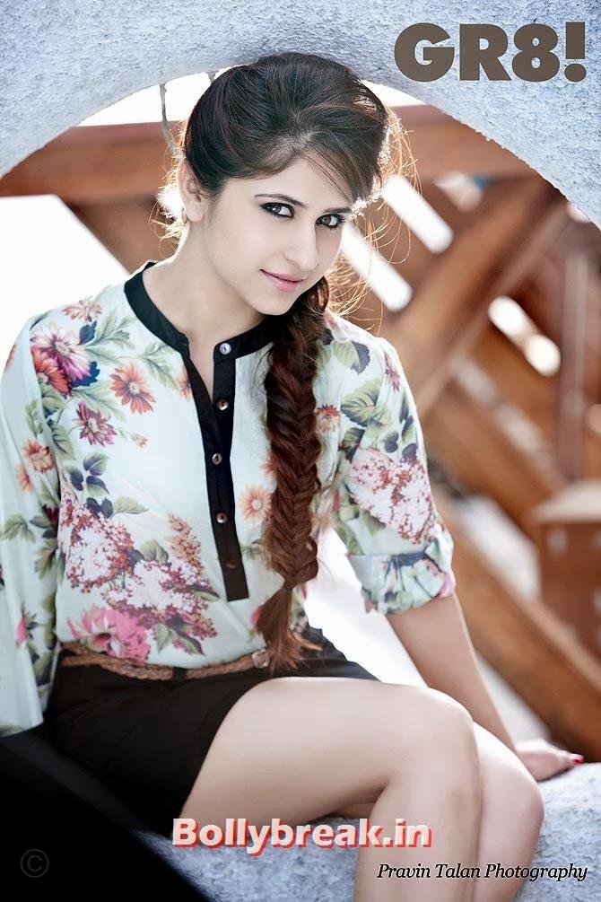 Hunar Hali,  Surbhi, Sana & Hunar on GR8 Magazine Cover - Hot Indian Tv Actresses