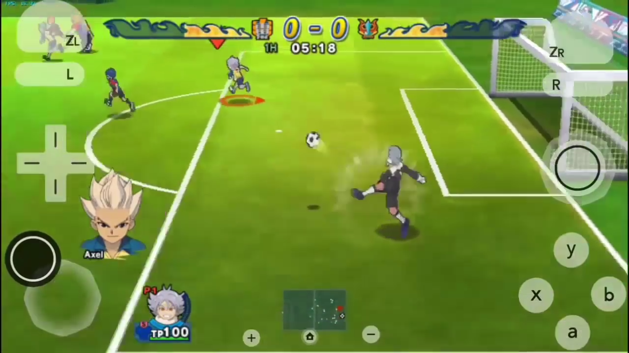 كيفية تحميل لعبة inazuma eleven strikers
