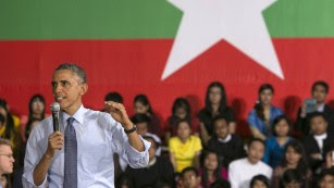 Obama declared US prepared to lift Myanmar sanctions