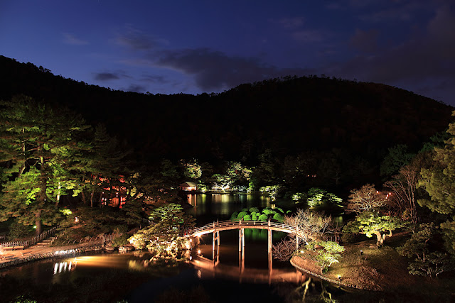 Ritsurin Garden (Fall Illumination), Kagawa | November 19th - 28th, 2016